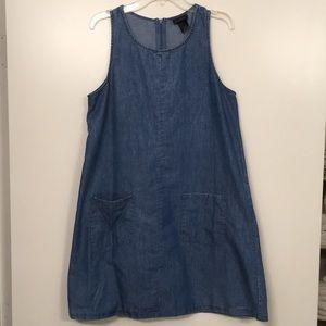 Forever 21 Denim Smock Dress M